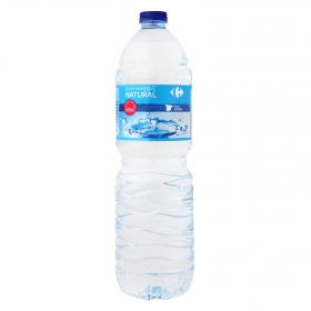 Agua mineral Carrefour natural 1,5 l.