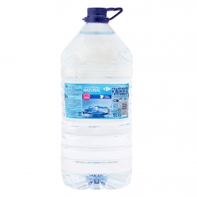 Agua mineral Carrefour natural 5 l.