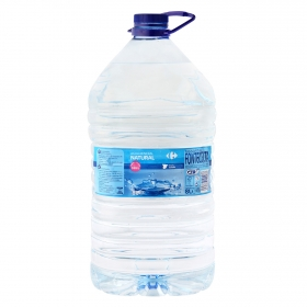 Agua mineral Carrefour natural 8 l.
