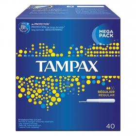 Tampones regular Tampax 40 ud.
