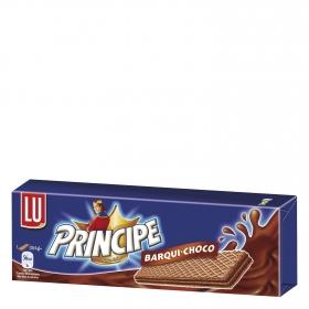 Galletas de barquillo con chocolate Príncipe 146 g.