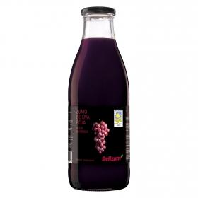 Zumo ecológico  uva roja