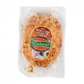 Pollo relleno con bacon y queso La Carloteña 600 g.