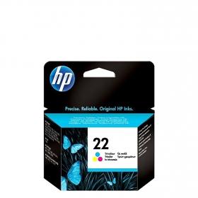 Cartucho de Tinta HP 22 - Tricolor
