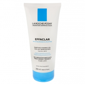 Gel limpiador purificante pieles grasas y sensibles