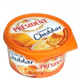Crema cheddar