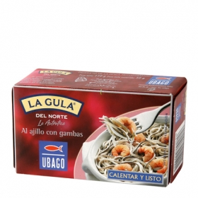 La gula del norte ajillo-gambas Ubago 115 g.
