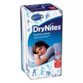 Calzoncillos absorbentes niño 8-15 años (27-57 kg.) DryNites 13 ud.