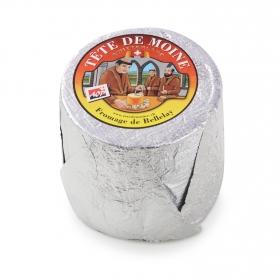 Queso Tête de Moine Suizo A.O.P. pasta semidura y graso al corte 200 g aprox