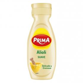Salsa alioli suave Prima envase 300 ml.