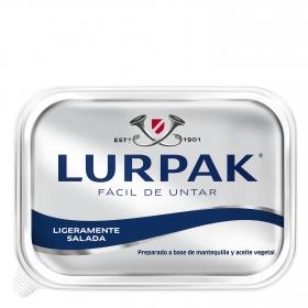 Mantequilla Lurpak fácil de untar ligeramente salada 250 g.