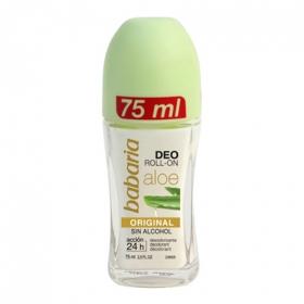 Desodorante roll-on aloe vera Babaria 1 ud.