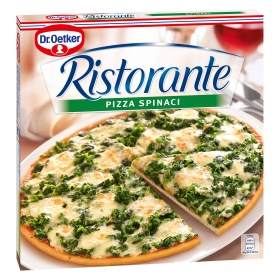 Pizza de Spinaci