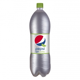 Refresco de cola Pepsi light sabor lima botella 2 l.