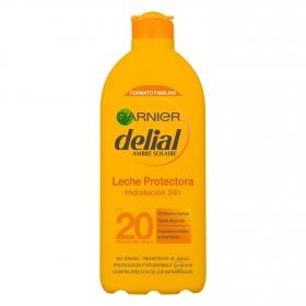 Leche solar ultra-hidratante FP 20 Delial 400 ml.