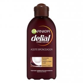 Aceite solar de coco FP 2 spray Delial 200 ml.
