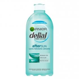After sun leche hidratante calmante Delial 400 ml.