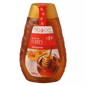 Miel de flores antigoteo Carrefour 500 g.