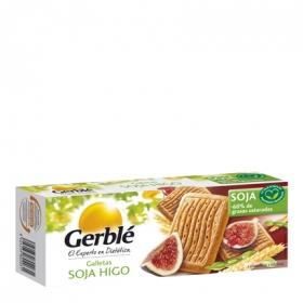 Galletas de soja con higo ricas en vitaminas