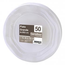 Plato 22cm  Blanco