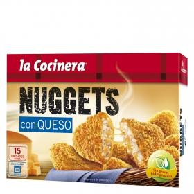 Nuggets de pollo y queso La Cocinera 350 g.