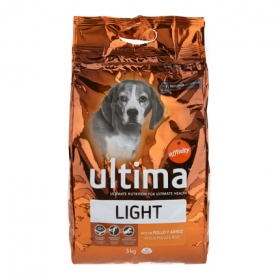 Alimento Perro Seco Ultima Medium Maxi Light
