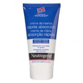 Crema de manos rapida absorcion Neutrogena 75 ml.