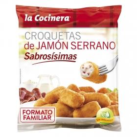 Croquetas de jamón serrano La Cocinera 800 g.