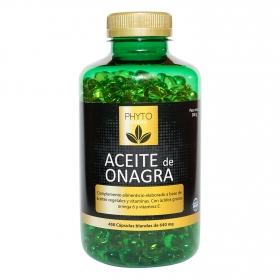 Onagra mas vitamina e perlas Phytofarma 450 cápsulas.