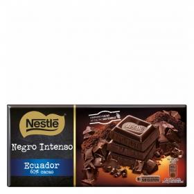 Tableta de chocolate negro Ecuador
