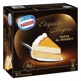 Tarta helada al whisky
