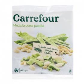 Verdura para paella congelada
