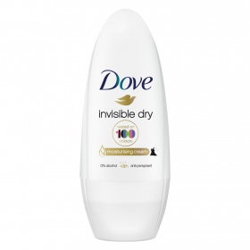 Desodorante anti-manchas roll on invisible Dove 50 ml.