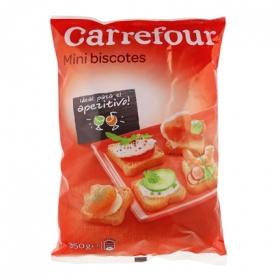 Biscottes mini Carrefour 350 g.