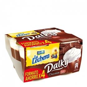 Copa Dalky Chocolate y nata