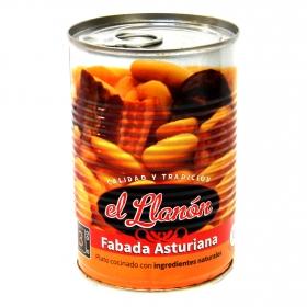 Fabada asturiana El Llanón 425 g.