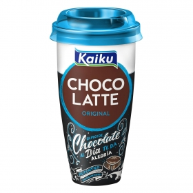 Batido de chocolate Kaiku vaso 230 ml.