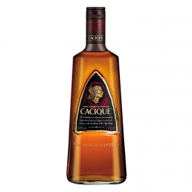 Ron Cacique añejo superior 1 l.