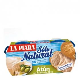 Paté de atún en aceite de Oliva La Piara pack de 2 unidades de 75 g.