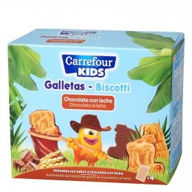 Galletas animales con chocolate ZOO