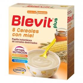 Papilla de 8 cereales con miel Blevit plus 600 g.