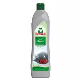 Limpiador de vitrocerámica mineral en crema ecológico Froggy 650 ml.