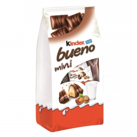 Barritas de chocolate con leche y crema de avellana Mini
