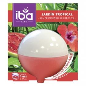 Ambientador esfera de gel jardín tropical