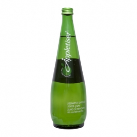 Zumo de manzana botella
