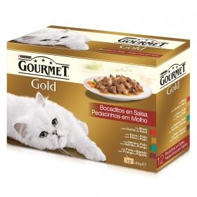 Comida para gatos Bocaditos en Salsa Surtido