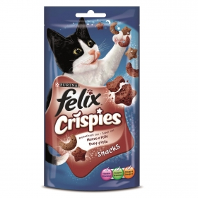 Snacks para gatos Crispies Buey