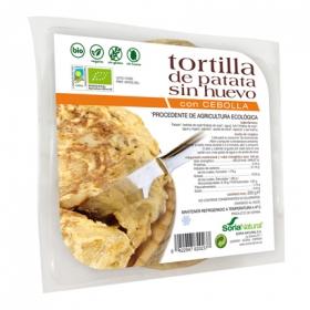 Tortilla de patata con cebolla ecológica Soria Natural sin gluten 250 g.