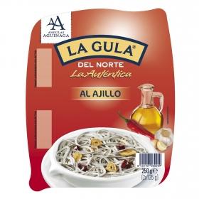 Gula del Norte al ajillo Angulas Aguinaga 250 g.