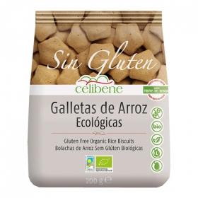 Galletas de arroz ecológicas sabor frutas del bosque - Sin Gluten